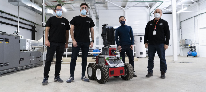 THE ADE ROVER IS READY TO BE USED IN NUCLEAR SCENARIOS