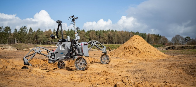 The ADE robotics project carries out the final field tests